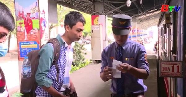 Ga Sài Gòn tăng 14.500 chỗ phục vụ Tết Dương lịch