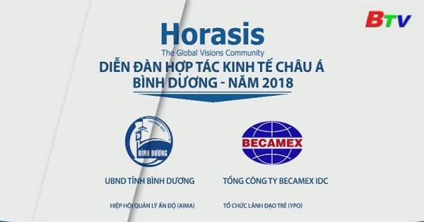 Bình Dương tích cực chuẩn bị sự kiện Horasis 2018