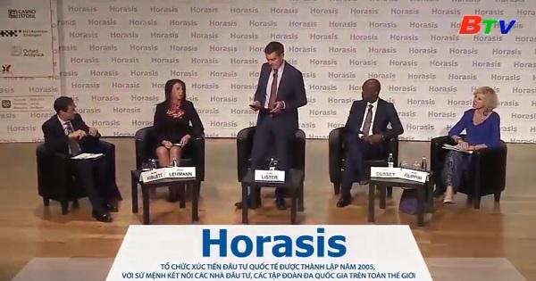 Nhiều phiên họp diễn ra tại sự kiện Horasis Bình Dương 2018