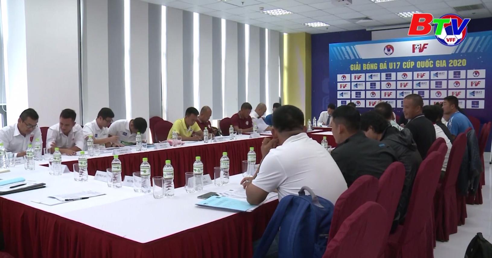 Khởi tranh Vòng chung kết Giải bóng đá U17 Cúp Quốc gia 2020