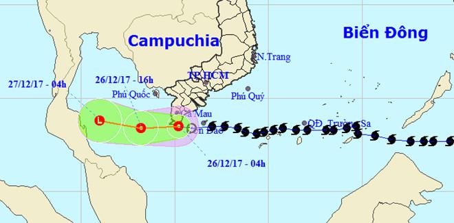 Bão số 16 - Tembin suy yếu thành áp thấp, mưa lớn diện rộng
