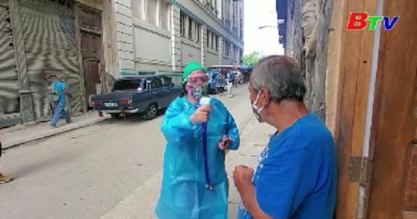 Cuba đạt đỉnh dịch COVID-19 mới