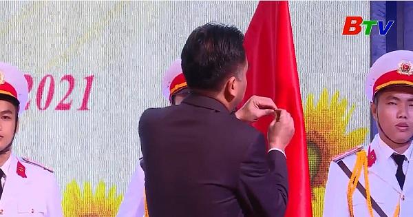 Huyện Bàu Bàng đón nhận Huân chương Lao động Hạng Nhất