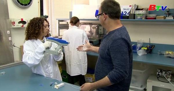 Spincare phủ sợi Nano điều trị vết thương