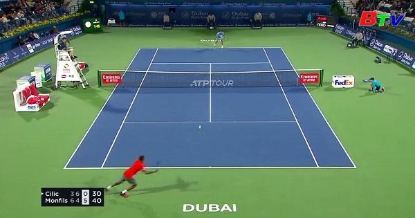Vòng 1 Giải quần vợt Dubai Championship 2019