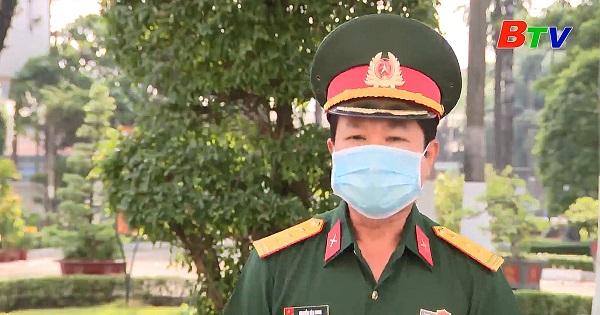 Thuận An tổ chức xét nghiệm sàng lọc COVID-19 cho thanh niên trúng tuyển nghĩa vụ quân sự