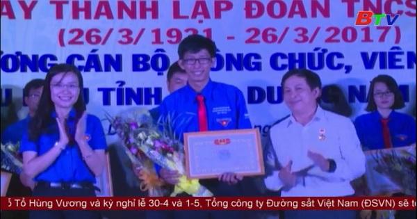 Mittinh kỷ niêm 86 năm ngày thành lập đoàn TNCS Hồ Chí Minh