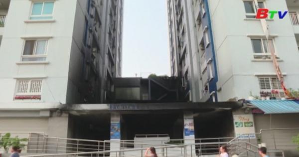 Báo động tình trạng mất an toàn PCCC tại các chung cư cao tầng
