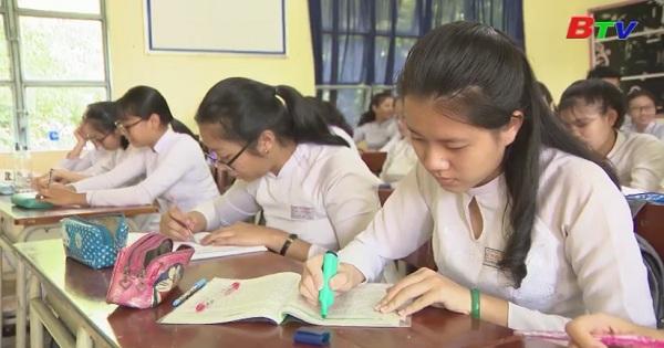 Ráo riết ôn tập cho kỳ thi THPT quốc gia 2018