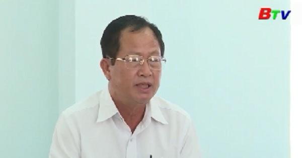 Bí thư Tỉnh ủy làm việc với huyện Bàu Bàng về công tác chuẩn bị Đại hội Đảng bộ nhiệm kỳ 2020-2025