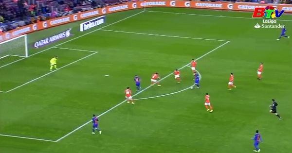 Vòng 34 La Liga - Barcelona 7-1 Osasuna