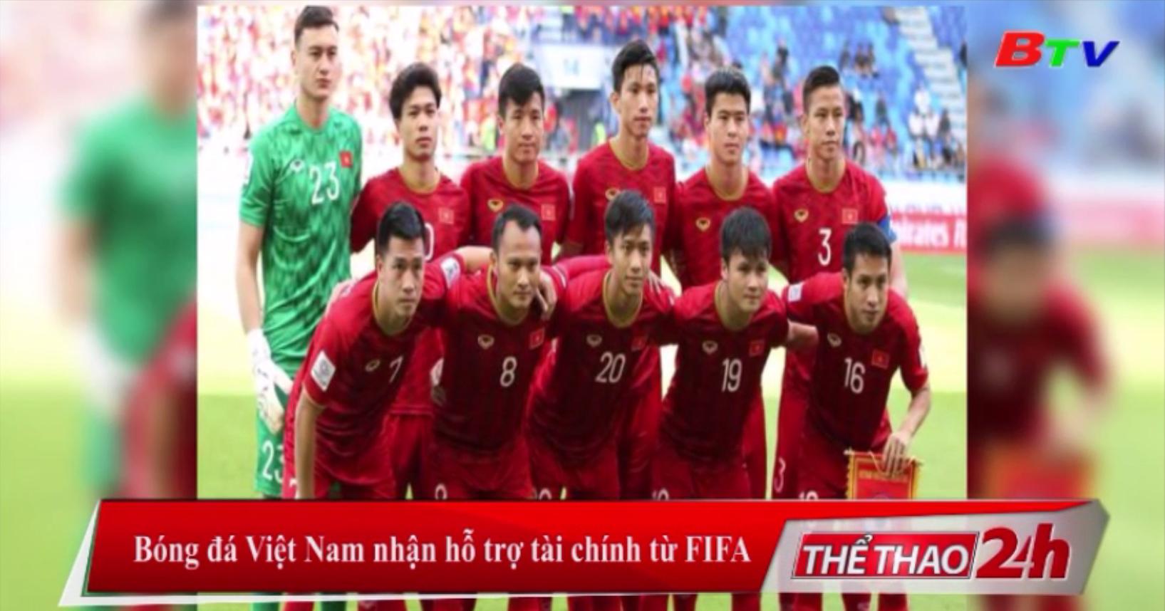 Bóng đá Việt Nam nhận hỗ trợ tài chính từ FIFA