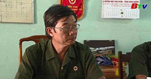 Một cựu chiến binh nhiệt tình với phong trào hội