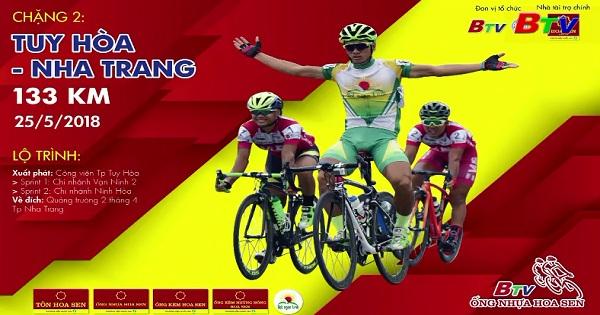 Tường thuật Giải xe đạp TH Bình Dương - Cúp Ống nhựa Hoa Sen (Chặng 2: Tuy Hòa - Nha Trang)