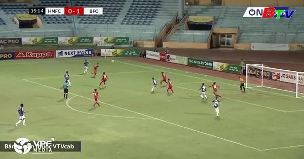 Bán kết lượt đi Cúp quốc gia - Sư tử trắng 2018 (Hà Nội 3-3 Becamex Bình Dương)