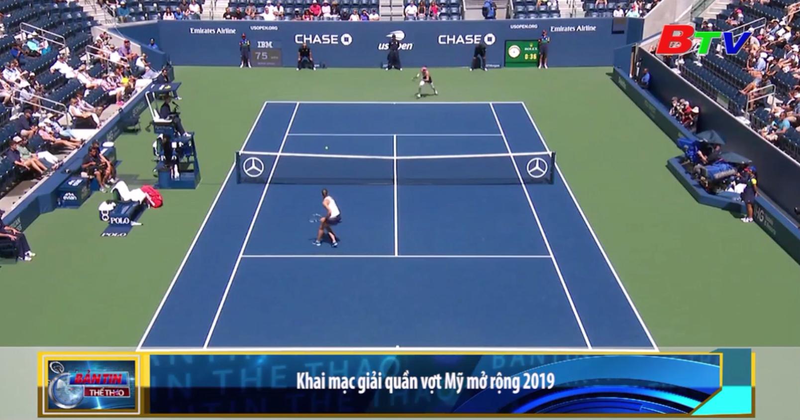 Khai mạc Giải quần vợt Mỹ mở rộng 2019