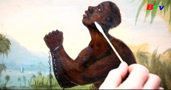 Anh - Khôi phục bức tranh người nô lệ Châu Phi