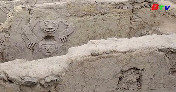 Phát hiện tranh tường cổ từ nền văn minh Caral