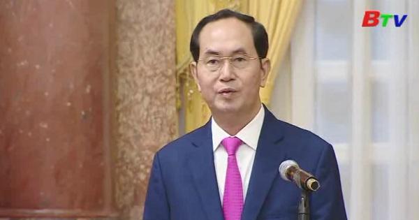 Chủ tịch nước Trần Đại Quang quan tâm đến thế hệ trẻ