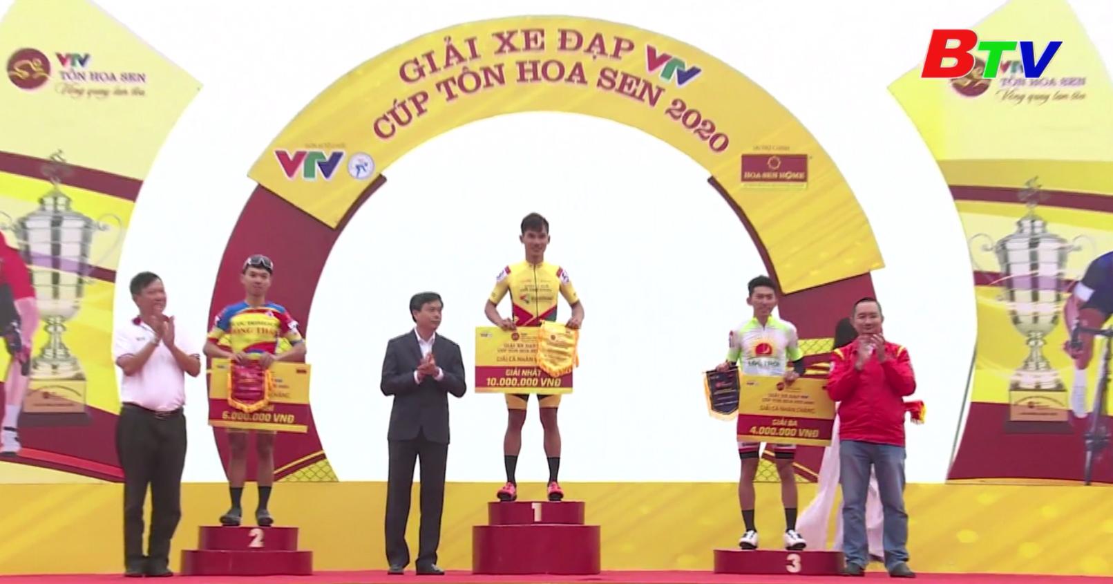 Kết quả Chặng 3 Giải xe đạp VTV Cúp Tôn Hoa Sen 2020