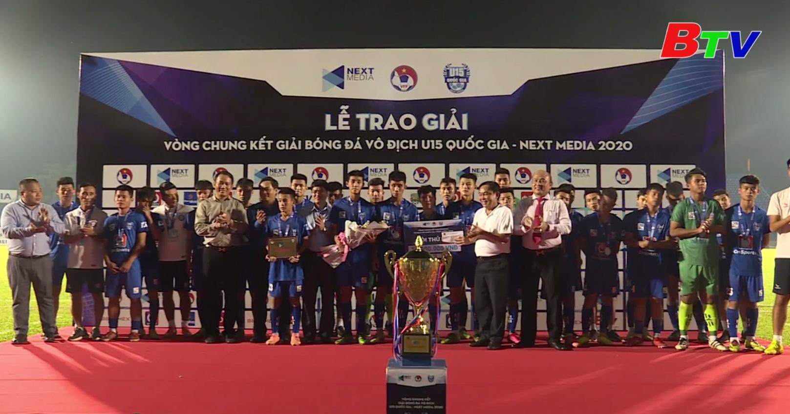 Giải bóng đá vô địch U15 Quốc gia - Next Media 2020 – Niềm tin từ lứa cầu thủ trẻ