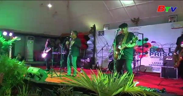 Lễ hội nhạc Rock nhà tù đầu tiên ở Indonesia