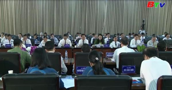 HĐND tỉnh Bình Dương khóa IX khai mạc kỳ họp lần thứ 8