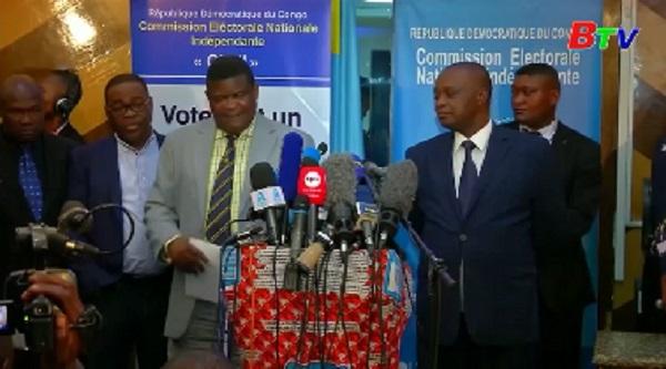 CHDC Congo hoãn bầu cử tại một số địa phương