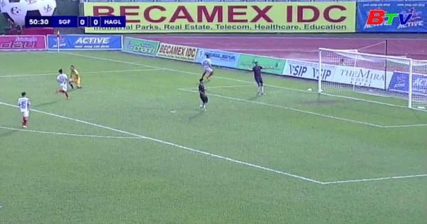 Giải bóng đá quốc tế truyền hình Bình Dương lần thứ XIX Cúp Number 1 : Sài Gòn 1- 2 HAGL
