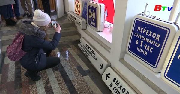 Cơ hội sở hữu những biển hiệu của nhà ga tàu điện  Moscow
