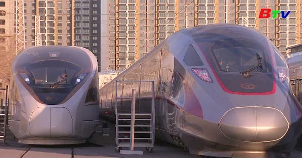 Trung Quốc ra mắt đội tàu cao tốc mới