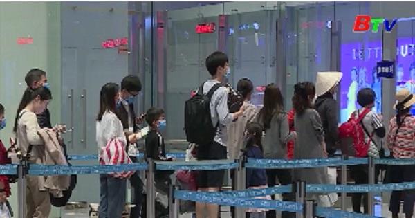 Vận chuyển đoàn khách Vũ Hán rời khỏi Đà Nẵng về nước