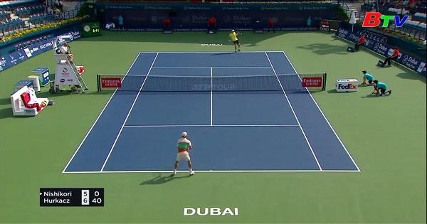 Kết quả Vòng 2 Giải quần vợt Dubai Championship 2019
