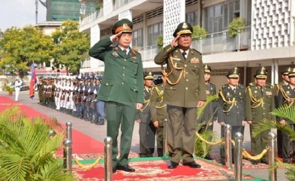 Tăng cường hợp tác giữa quân đội Việt Nam và Campuchia