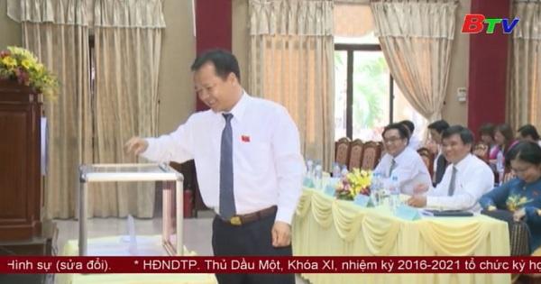 Kỳ họp thứ IV (bất thường) HĐND thành phố Thủ Dầu Một khóa XI