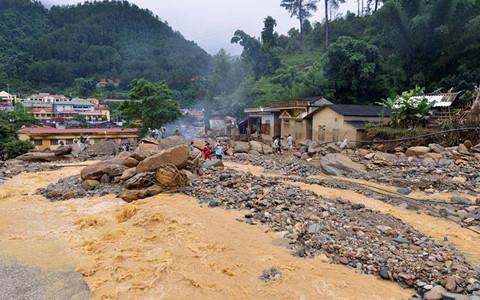 Các tỉnh miền núi phía Bắc có nguy cơ cao sạt lở đất, lũ quét