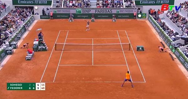Kết quả vòng 2 nội dung đơn nam Giải quần vợt Roland Garros 2019