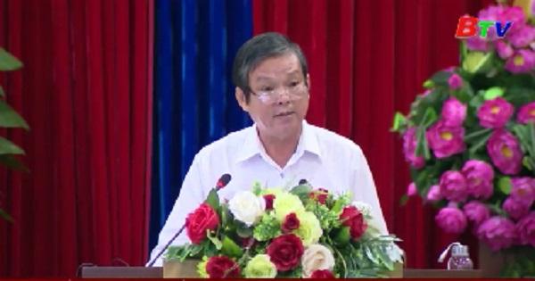 Hội nghị báo cáo viên trực tuyến thông báo kết quả hội nghị 12, Ban Chấp hành Trung ương Đảng khóa XII