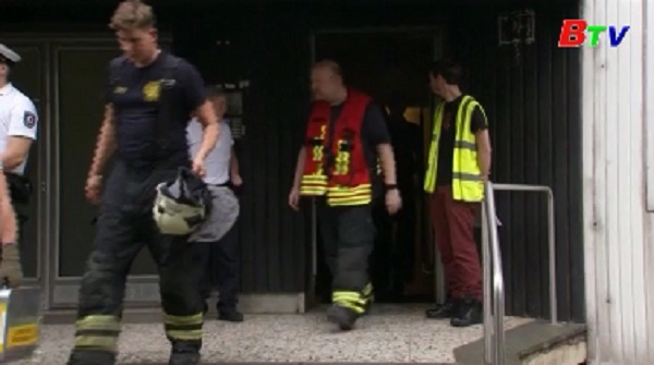 Đức sơ tán công dân khỏi một chung cư do lo ngại nguy cơ hỏa họan