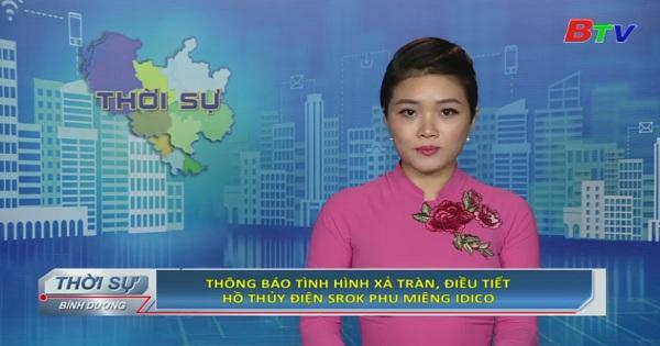 Thông báo tình hình xả tràn, điều tiết hồ thủy điện Srok Phu Miêng IDICO