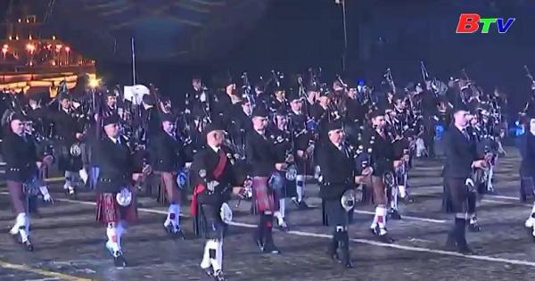 Liên hoan Quân nhạc quốc tế Nga  khai mạc tại Moscow