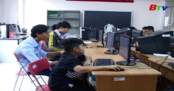 Hoạt động của Trung tâm dạy nghề người khuyết tật
