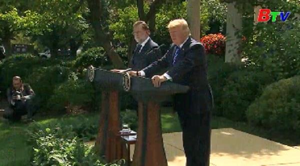 Tổng thống Mỹ ủng hộ một Tây Ban Nha thống nhất