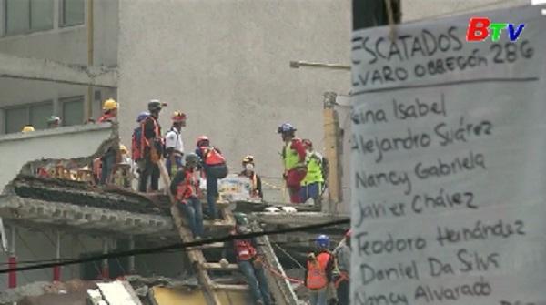 Động đất tại Mexico - 9 người nước ngoài thiệt mạng