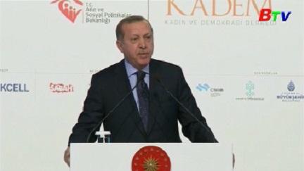 Thổ Nhĩ Kỳ chỉ trích nghị viện Châu Âu can thiệp công việc nội bộ