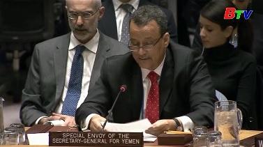 LHQ nỗ lực tái hòa đàm cho Yemen