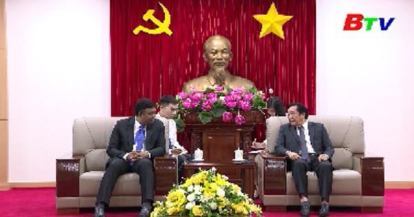 Lãnh đạo tỉnh tiếp tổng lãnh sự Án Độ tại Việt Nam