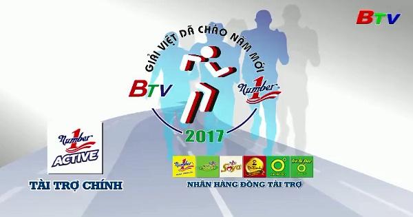 Giải Việt dã Chào năm Mới BTV - Number One lần thứ XVIII/2017