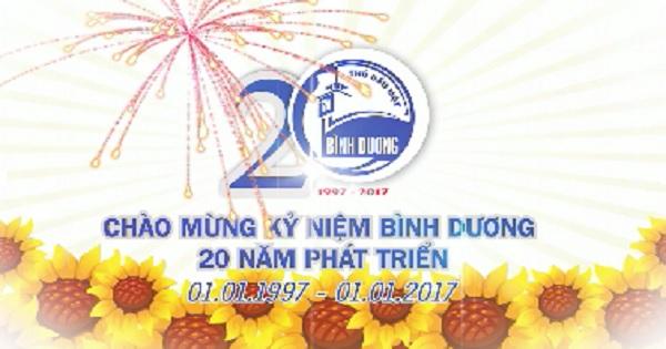 Chào mừng Kỷ niệm 20 năm ngày Tái lập tỉnh Bình Dương