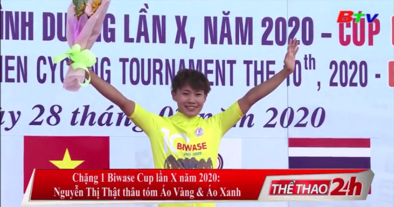 Chặng 1 Biwase Cup lần X năm 2020 – Nguyễn Thị Thật thâu tóm Áo Vàng và Áo Xanh